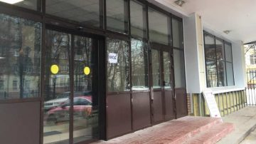 наружняя дверь входной группы